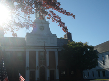 The Town Hall In Westboro MA